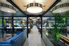 Corporate office Interior of Dentsu | Praxis - The Architects Diary #office #interior #design #ideas