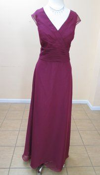DaVinci Bridal Plum 60204 Dress