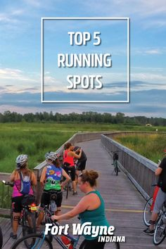 Fort Wayne, Indiana offers plenty of ways to stay active! Trade in a treadmill and hit the pavement with these top 5 running spots. Running Company, Running Club, Dog Playground, Purdue University, Three Rivers, Free Park, Urban Setting, Stay Active, Outdoor Adventures