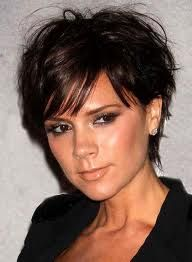short hairstyles for round faces - Google Search