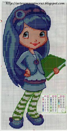 Cross Stitch Fairy, Cross Stitch Flowers, Counted Cross Stitch Patterns, Cross Stitch Embroidery, Cross Stitch Boards, Cross Stitch Needles, Wiggly Crochet, Cute Stitch, Friend Crafts