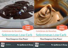 Coletânea de Receitas de Sobremesas Low-Carb Para Emagrecer Com Prazer — Senhor Tanquinho