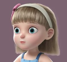 3D cartoon girl rigged - TurboSquid 1317956 Little Girl Cartoon, Cartoon Girl Images, Cute Cartoon Pictures, Cartoon Girls, Baby Cartoon Characters, Cartoon Jokes, 3d Cartoon, Cute Disney Wallpaper, Kawaii Wallpaper