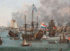 The Raid on the Medway occurred in 1667, during the Second Anglo-Dutch War. Penetrating the Thames estuary, Dutch ships attacked up the River Medway as far as Chatham, capturing or destroying several English ships. One of the worst naval defeats ever inflicted on the British, the raid led to a quick peace in favor of the Dutch.