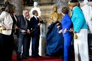 Statue of Rosa Parks Is Unveiled at the Capitol..President Obama and Congressional leaders dedicated a statue of Rosa Parks, whose act of defiance and work in the civil rights movement helped spur desegregation across the country and the passage of the Voting Rights Act. Stephen Crowley/The New York Times
