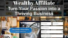 Wealthy Affiliate turn your passion into a thriving business Dream Video, Leap Of Faith, Internet Marketing, Affiliate Marketing, Online Business, Investing, Presentation, Passion, Marketing Training