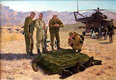 Soviet conscripts mourns their casualties, Soviet-Afghan War