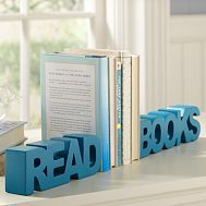 ''read books'' bookends! super cute. @Lydia Hopson you need this!!