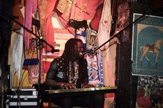 Ofei performing at Pull The Plug