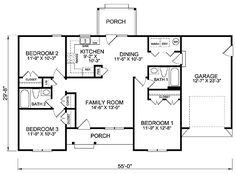 First Floor of Plan ID: 39172