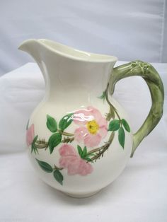 Franciscan Desert Rose Pitcher Made in USA #Franciscan
