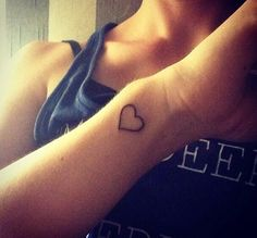 Small Tattoos for girls! This is so cute!