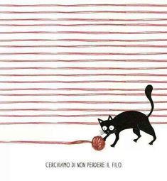Non perdere il filo- black cat