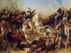Napoleon Bonaparte in Battle | Napoleon at the Battle of the Pyramids, 21 July 1798