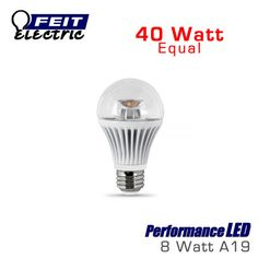 FEIT PerformanceLED 8 Watt A19 40 Watt Replacement