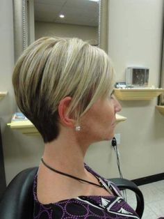 blonde - dark - rounded back  2012 womens short hair pictures - Bing Images