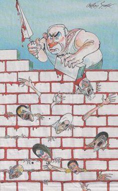 Une caricature de Netanyahu fait polémique en Grande-Bretagne - Un dessin de presse représentant le Premier ministre israélien et taxé d'antisémitisme, paru dans le journal britannique The Sunday Times, suscite la colère de la communauté juive. Le propriétaire du journal a même dû présenter ses excuses.