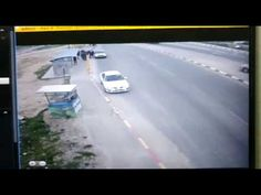 WATCH: Palestinian Woman Attempts Car-Ramming Terror Attack at Israeli Bus Stop