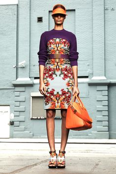 Givenchy Resort 2012--Love the colors and the bag!