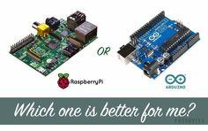 arduino raspberry pi comparison