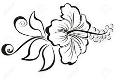 Image result for flower line drawings