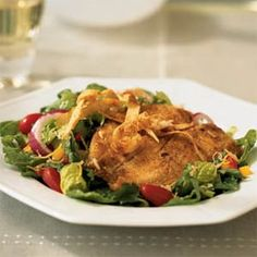 Cornmeal Crusted Tilapia. While the ingredient list is long, most of the work is simply measuring out seasonings and prepared ingredients. The dish comes together in less than 30 minutes. Substitute any firm white fish, such as red snapper or flounder, for tilapia.