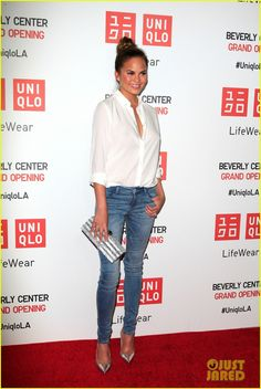 chrissy teigen hopes amanda bynes is pulling 03 Chrissy Teigen, Jaime King, and Jordana Brewster hit the red carpet at the opening of Uniqlo's New Beverly Center Flagship Store on Thursday evening (October 9)…