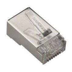 Black Box Network Services Cat6 Shielded Modular Plug, 100-pack