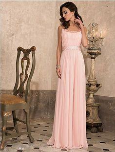 2013 Prom Dresses Sheath/Column Floor Length Sweep/Brush Train Scoop Chiffon USD 129.99 VPPXMXRJF - VoguePromDresses