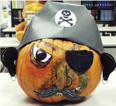 pirate pumpkin book character contest