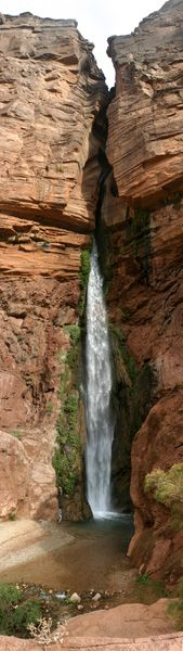 Deer Creek Falls on the Colorado River in the Grand Canyon