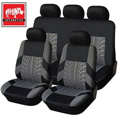 1+1 Quilted Racing Blue Seat Covers For CITROEN C3 2017 On