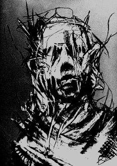 tfw you're a monochrome ntr gf Arte Horror, Horror Art, Arte Lowbrow, Arte Punk, Satanic Art, Arte Obscura, Creepy Art, Monochrom, Dark Anime