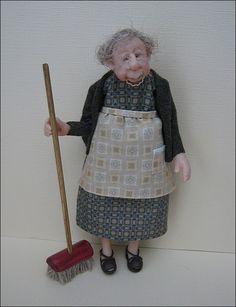 12th Scale Old Dear ~ Peggy. Now SOLD