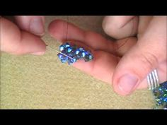 Video: Double Right Angle Weave - #Seed #Bead #Tutorials