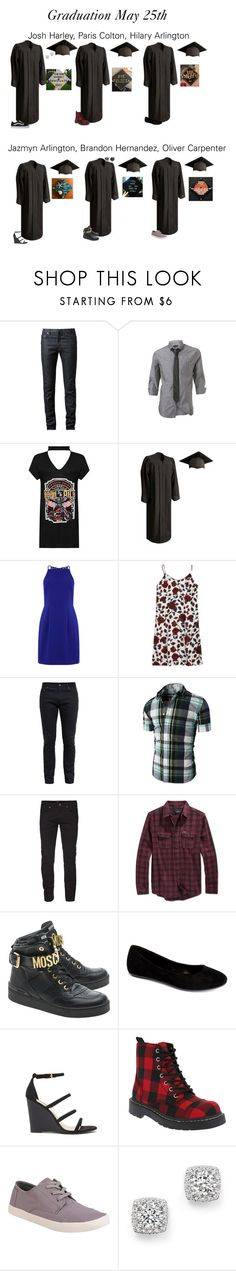 """""""High School Grad"""" by our-poly-friends ❤ liked on Polyvore featuring Christian Dior, Burton, WearAll, Yves Saint Laurent, Hurley, Hot Topic, Moschino, Com Fancy, Forever 21 and T.U.K."""