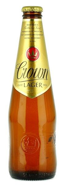 Carlton Crown Lager | Carlton  United Breweries  AUSTRALIA