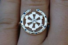 Another wedding ring she would kill me for (its a star wars referance)