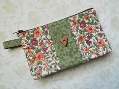 Cosmetic Case Make Up Bag Purse Pouch Tote  READY by CyndeesGarden