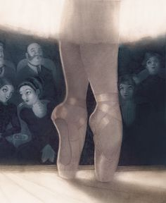 illustrated ballett feet
