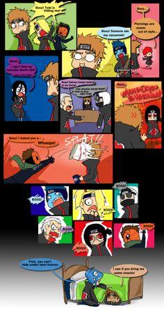 Anime Naruto, Naruto Akatsuki Funny, Comic Naruto, Funny Naruto Memes, Naruto Cute, Naruto Shippuden Anime, Naruto And Sasuke, Itachi, Funny Memes