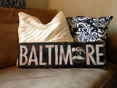 Baltimore Boh Hand Painted Sign