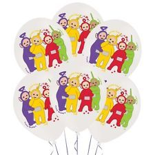 6 x Teletubbies Balloons Birthday Balloons Party Decorations Helium or Air
