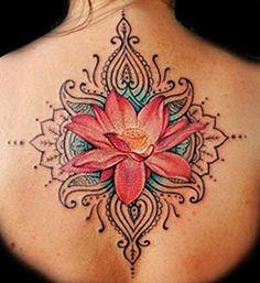 tattoo mandala colorida masculina ombro - Pesquisa Google