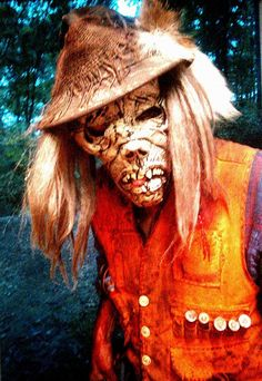 Chainsaw Freddie lives at the Wicked Forest Haunted Attraction in Logan, Ohio