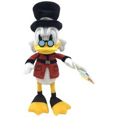 Duck Tales 7 Plush with Sound - Scrooge Don Rosa, Duck Wallpaper, 1970s Cartoons, Disney Store Japan, Disney Ducktales, Uncle Scrooge, Judy Hopps, Scrooge Mcduck, Duck Tales