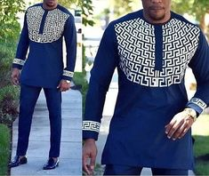 Mens african wear with embroidery, embroidered mens african clothing, mens native wear, mens kaftan, African Male Suits, African Clothing For Men, African Women, Latest African Wear For Men, Latest African Men Fashion, African Shirts For Men, Traditional African Clothing, African Attire For Men, Wedding Suit Styles