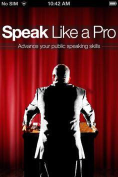 SpeaklikeaPro iPhone app