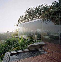 Sheats Goldstein Residence by John Lautner. Los Angeles, California, USA.