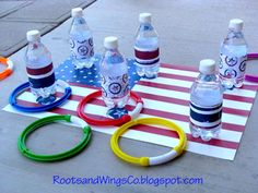 Outside games for the 4th of July or anytime.
